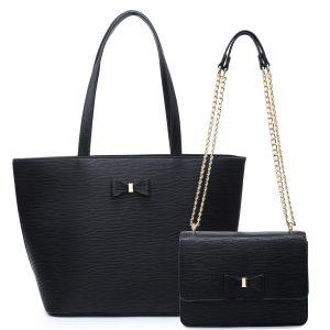 Black Double Bag Set