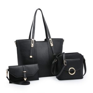 Black Triple Bag Set