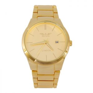 Softech Gold Mens Watch