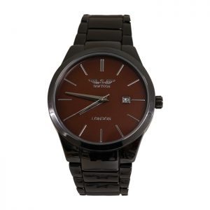 Brown Face Analogue Mens Watch