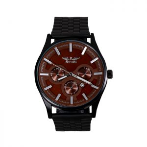 Softech Black & Brown Gents Watch