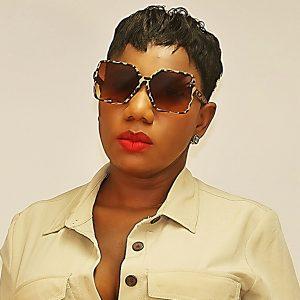 Matte Leopard Print Frame Oversize Sunglasses