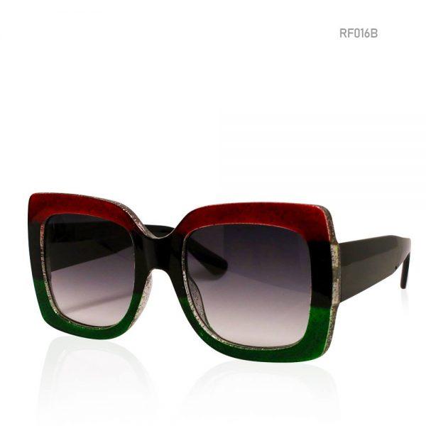 Multicoloured Oversized Sunglasses