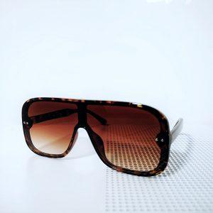 Leopard Print Frame Unisex Sunglasses
