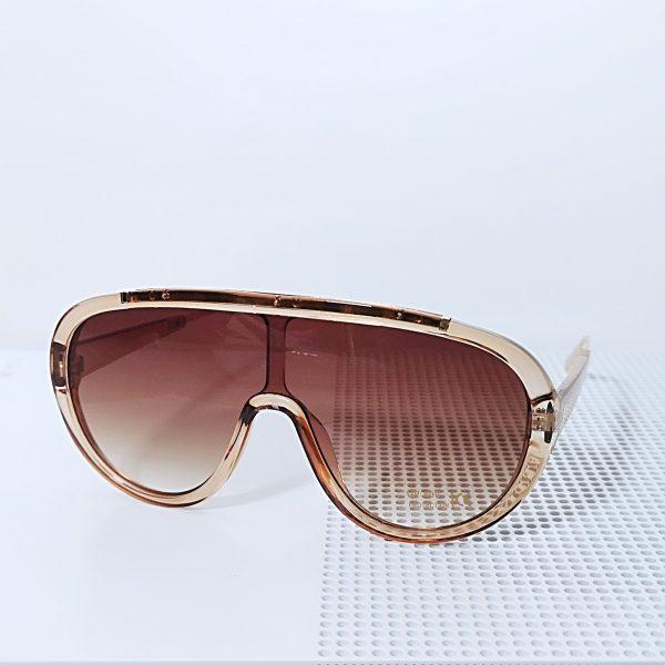 Goggle Style Translucent Sunglasses