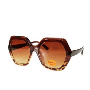 Leopard Print Frame Sunglasses