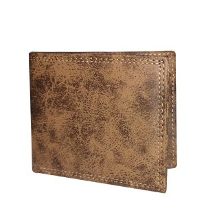 Beige Leather Wallet