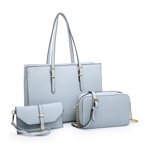 Light Blue Bag Set