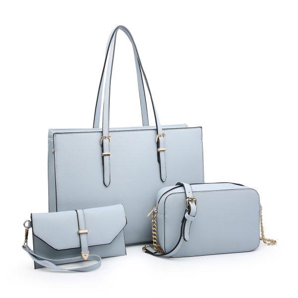 Light Blue Bag Set